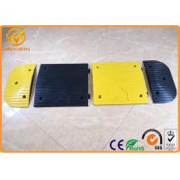 Wholesale Yellow Jacket Durable Parking Lot Bumpers Rubber UV resistant 500 * 400 * 50 mm from china suppliers