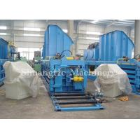 Quality Safe and Reliable Baling Equipment With Cutting Blades / Waste Paper Baler for sale