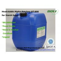 Buy cheap Liquid Alpha Amylase Enzyme HT -800 Decrease Viscosity Of Gelatinous Starch from wholesalers