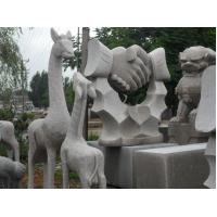 Wholesale Granite giraffe mother and child statue stone carving from china suppliers