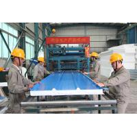 Wholesale Automatic EPS Sandwich Panel Production Line , Sandwich Panel Making Machine from china suppliers
