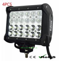 Wholesale 4 rows led work light bar 72W CREE LED Off Road ATV UTV Lightbar Lamp from china suppliers