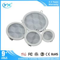 Wholesale IP40 Ceiling round dimmable led downlights 3D Effect Pattern from china suppliers