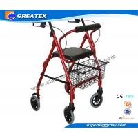 Wholesale Mobility Medicare lightweight folding walker with wheels , collapsible walkers from china suppliers