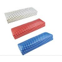 Quality NT-1301 PU leather Colorful Nail Hand Arm Rest Pillow for sale