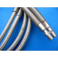 Wholesale Silver PTFE Teflon Tube , PTFE Teflon Pipe Wrapped Stainless Steel Wire from china suppliers