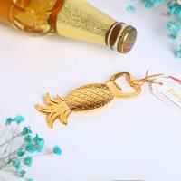 Wholesale Wedding Favor Gold Pineapple Bottle Opener Favors from china suppliers