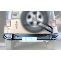 Wholesale Upgrade Auto Spare Parts For Wrangler 2007 - 2015 , AEV Rear Bumper and Spare Tire Carrier from china suppliers