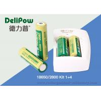 Wholesale Battery Charger 18650 Lithium Rechargeable Battery With 3 Years Cycle Life from china suppliers