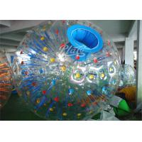 Wholesale Huge Inflatable Zorb Ball 1.0mm PVC Durable Loopy Zorb Body Ball from china suppliers