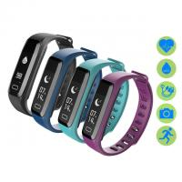 Wholesale Pulsometer Fitness Bracelet Watches Blood Pressure Smart Bracelet Step Counter Wristband Pedometer Smart Band pk fitbits from china suppliers