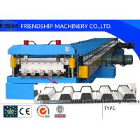 Wholesale Metal Deck and Floor Deck Roll Forming Machine with 45# Steel Roller from china suppliers