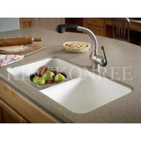 Wholesale Artificial Marble Undermount Kitchen Sinks from china suppliers