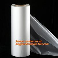 China Transparent cheap PE Stretch Film with different specifications, Plastic PVC stretch film on sale