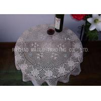 Wholesale Round Shape Dinner Knitted Table Cloth Dessin Caviar For Home Furniture from china suppliers