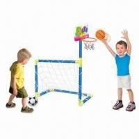 Wholesale 2-in-1 Kids' Basketball and Soccer Sport Set from china suppliers