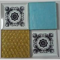 Wholesale Screen Printed Glass Square Decorative Glass from china suppliers