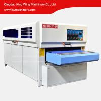 Wholesale KC1000-3YP-2R Solid wood door disc brush roller brush sanding machine MDF cabinet sanding machine for wood from china suppliers