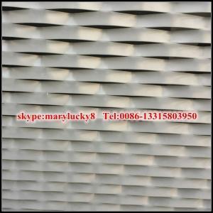 Buy cheap PVDF aluminum mesh for facade from wholesalers