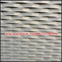 Buy cheap PVDF aluminum mesh for facade from wholesalers
