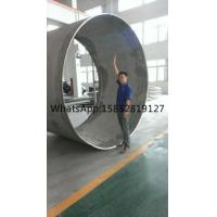 Quality ASTM A358 316L Large Diameter Stainless Steel Pipe Wall Thickness 0.5mm - 60mm for sale