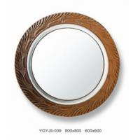 Wholesale Decorative Bronze Framed Mirror With Deep-Carving 3D Effects , Shower Mirrors from china suppliers