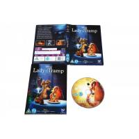 Quality Lady and the Tramp cartoon dvd Movie disney movie for children uk region 2 DHL free shipp for sale