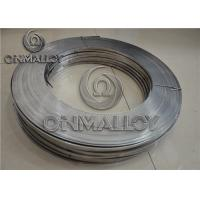Wholesale Cr20Ni80 Nichrome Alloy , 0.05mm×100mm Nichrome Strip For Heating Foil from china suppliers