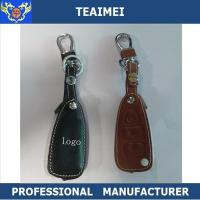 Wholesale Real Car Brand Logo Leather Key Pouch Key Case Cover Remote Control from china suppliers