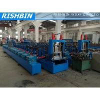 Wholesale 20 KW C Z Channel Purlin Roll Forming Line with 12 - 14 m / min Carbon Steel from china suppliers