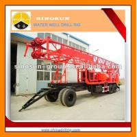 Wholesale T-450 trailer mounted water well drilling rig from china suppliers