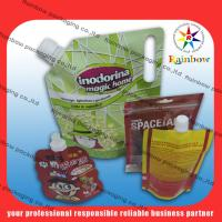 Wholesale Customized Stand Up Spout Pouch Packaging With Bottom Gusset For Food from china suppliers