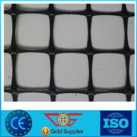 Wholesale Plastic Polypropylene PP Biaxial Geogrid 20Kn 30Kn Retaining Wall Reinforcement Grid from china suppliers