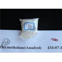 Wholesale Muscle Mass Anadrol Oxymetholone White Oral Raw Steroid Powders CAS 434-07-1 from china suppliers