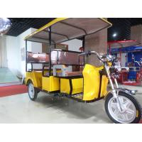 Wholesale Foot Brake Passenger Electric Powered Tricycle With Roof 2780*950*1750mm from china suppliers