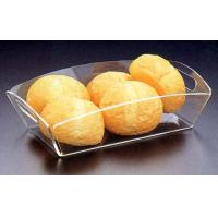 Wholesale acrylic food tray, acrylic stacking trays, food service tray from china suppliers