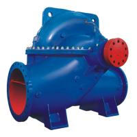 Water Suction Single Stage Double Suction Centrifugal Pump Blue Or Customized Color