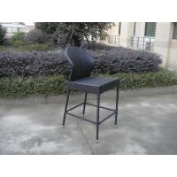 Wholesale Resin Wicker bar chair , Contemporary PE Rattan Bar Furniture from china suppliers