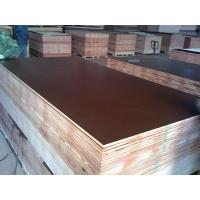 Wholesale 15mm black browm red film faced shuttering plywood construction plywood from china suppliers