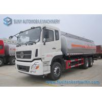 Wholesale Diesel 20m3 Pump Oil Tank Trailer Dong Feng 6x4 Truck ISDe245 40 Engine from china suppliers