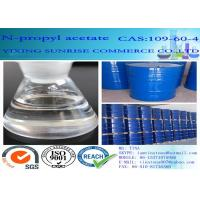 Wholesale C5H10O2 N Propyl Acetate Paint Dissolving Solvent CAS 109-60-4 102 Molecular Weight from china suppliers