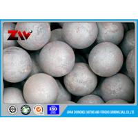 Wholesale Chemical Industry casting and forged grinding steel ball High Hardness HRC 60-68 from china suppliers