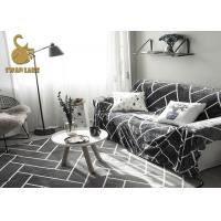 Wholesale 100% Polyester Modern Floor Rugs For Living Room Customized Size / Design from china suppliers