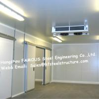 Wholesale Commercial Walk In Fridge / Refrigerator Units Made Of Width 950mm Pu Sandwich Panel from china suppliers