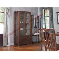 Wholesale Solid wooden with Glass Door Sideboards for Wine Cabinet in Dining Room Furniture from china suppliers