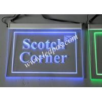 Wholesale Hanging LED Edge-lit Logo Sign from china suppliers