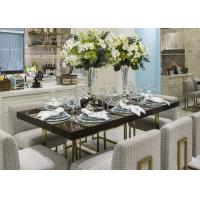 Wholesale Retro Style Colorful Metal Modern Dining Room Chairs With Fabric Upholstered from china suppliers