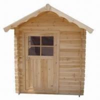 Wholesale Garden Shed House, Made of Solid Wood, Measuring 180 x 142 x 166cm from china suppliers