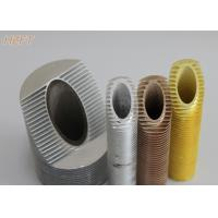 Quality Integrated Aluminum Spiral Finned Tube for Automotive Engineering 0.8mm - 0.9mm Thickness for sale