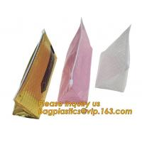 Wholesale Cosmetic Pink Slider Padded Bag/Silver Ziplock Bag With Bubble,Padded Envelopes Cheap Aluminium Foil Ziplock Holographic from china suppliers